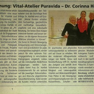 Dr. Hartleb Vitalatelier Offenbach Post, 23. Januar 2016